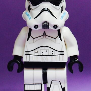 Purple Lego Storm Trooper by EllLang