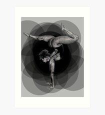 Doin' Yoga Art Print