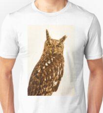 Blinking Owl Unisex T-Shirt