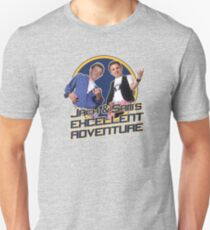 Jack and Sam's Excellent Adventure Unisex T-Shirt