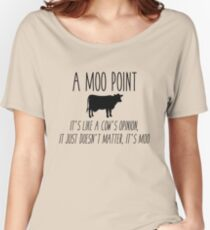 Friends - Moo Point Women's Relaxed Fit T-Shirt