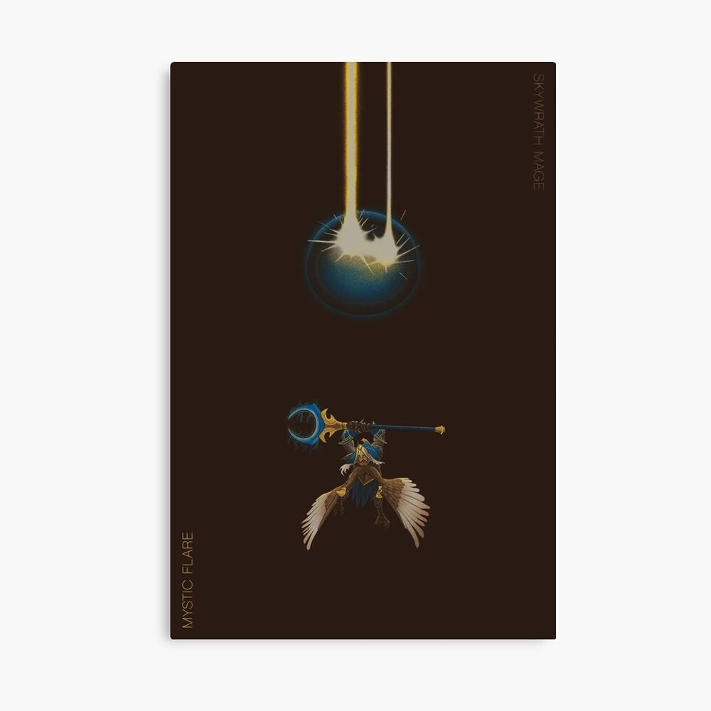 Skywrath Magier - Mystic Flare Leinwanddruck