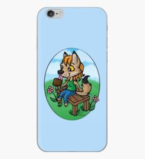 Summertime Treat - Coyote with Ice Cream iPhone Case