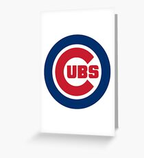 America's Game - Chicago Cubs Greeting Card