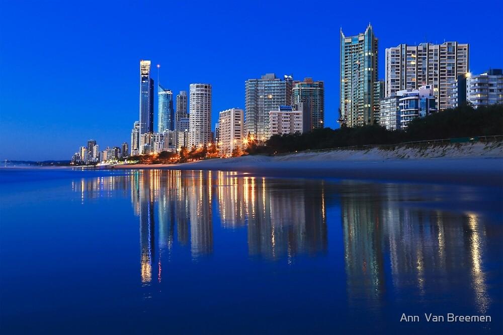 City Beach by Ann  Van Breemen