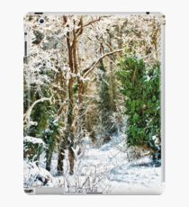 Woodland Snow iPad Case/Skin