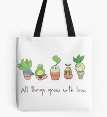 ALL THINGS GROW WITH LOVE Tote Bag