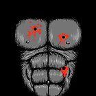Harambe Halloween Costume - Shot Gorilla Chest by Dumb Shirts
