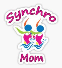 Synchro Mom Sticker