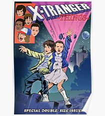 X-Tranger things Poster