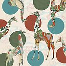 Giraffe Polka by Paula Belle Flores