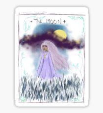 Tarot Card The Moon Goddess Sticker