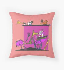 Etude for Indifference Throw Pillow