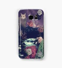 cat surprise Samsung Galaxy Case/Skin