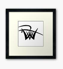 Unofficial Logo Framed Print