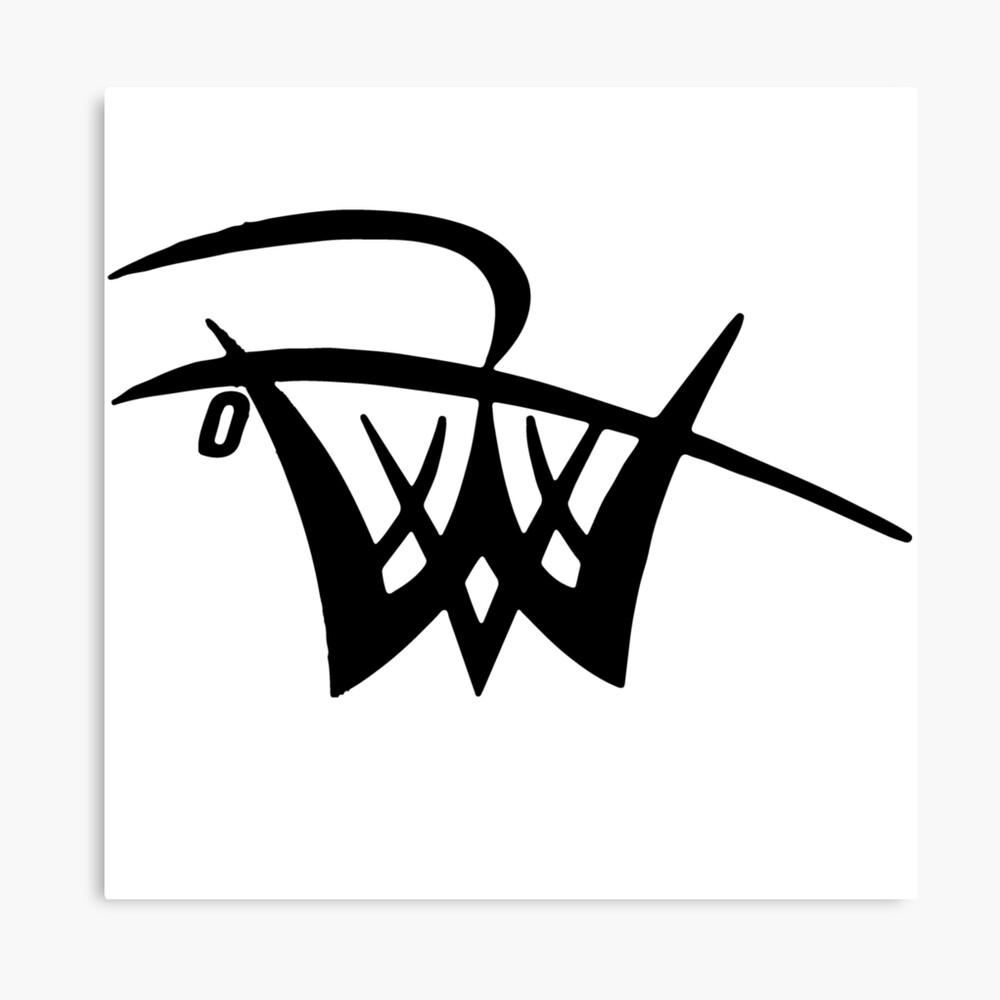 Inoffizielles Logo Leinwanddruck