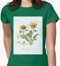 Botanical Prints Womens Fitted T-Shirt
