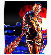 Walking Dead Negan-Eeny Meeny Miney Mo Poster