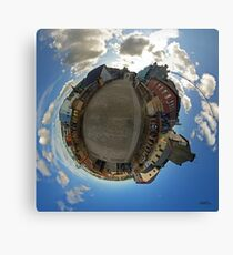 City Walls of Derry at Ferryquay Gate Canvas Print