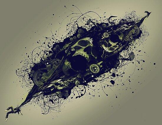 Skull by grafoxdesigns