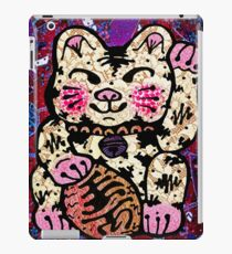 'Shiny Lucky Cat #2' iPad Case/Skin