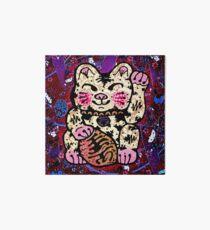 'Shiny Lucky Cat #2' Art Board