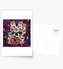 'Shiny Lucky Cat #2' Postcards
