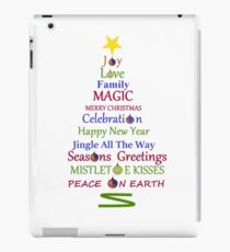 Holiday Tree iPad Case/Skin