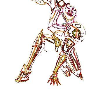 Metroid Neon by LiamNeesons