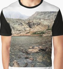 Peacock Lake, Colorado. Graphic T-Shirt