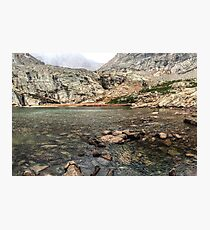 Peacock Lake, Colorado. Photographic Print