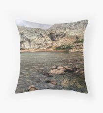 Peacock Lake, Colorado. Throw Pillow