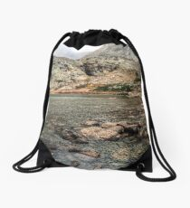 Peacock Lake, Colorado. Drawstring Bag