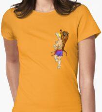 Tiger Uppercut Women's Fitted T-Shirt
