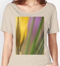 First flowers of the year in macro Women's Relaxed Fit T-Shirt