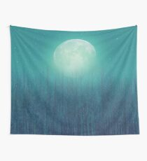 The Moon Shines Bright In Such A Night Wall Tapestry
