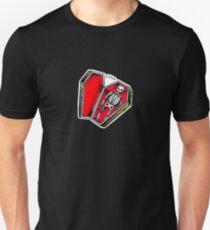 Skeleton Coffin Unisex T-Shirt