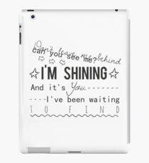shining - years & years iPad Case/Skin