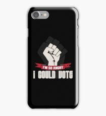 Funny Political Voting Protest Joke iPhone Case/Skin