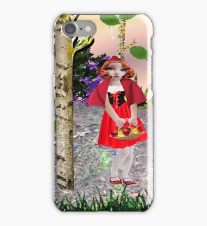 Red Riding Hood (959 views) iPhone Case/Skin