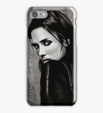 Jennifer Connelly Painting iPhone Case/Skin