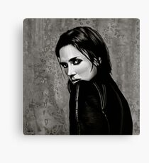 Jennifer Connelly Painting Canvas Print