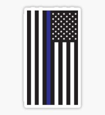 Blue Lives Matter Flag Sticker