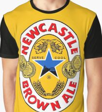 Brown Ale Newcastle  Graphic T-Shirt