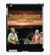 SAN03 Jimmy Buffett and the Coral Reefer Band TOUR 2016 iPad Case/Skin