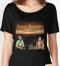 SAN03 Jimmy Buffett and the Coral Reefer Band TOUR 2016 Women's Relaxed Fit T-Shirt