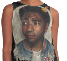 childish gambino - the rappers Contrast Tank