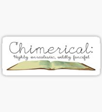 Chimerical || Spelling Bee Sticker