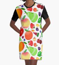 Fruchtsalat T-Shirt Kleid