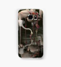 More Flamingos Samsung Galaxy Case/Skin